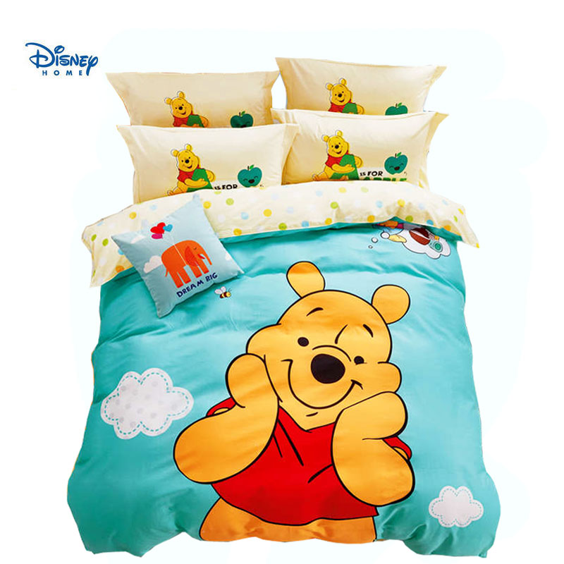disney home textile cartoon winnie the pooh bear comforter ...