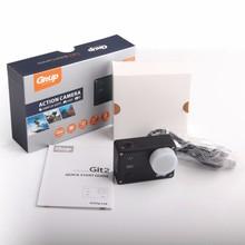 Original GitUp Git2 Wifi Sports Camera 2k 1080p 60fps Full HD For Sony IMX206 16MP Sensor Support G-Sensor with Standard Packing(China (Mainland))