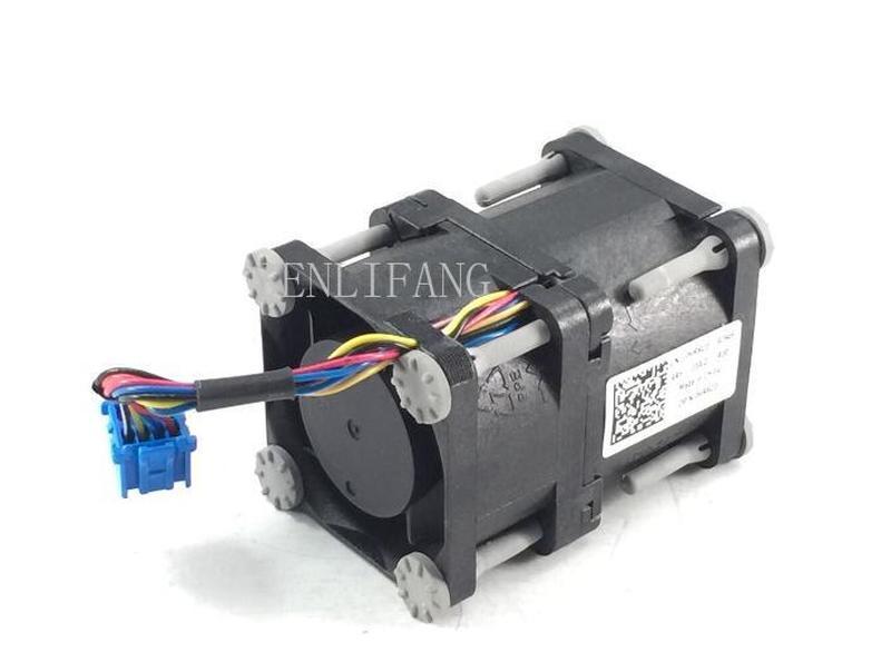 0HR6C0 HR6C0 00P3JT  CPU Cooler For PE R320 R420 12V Dual Rotor Server Fan ( Working With XHMDT)