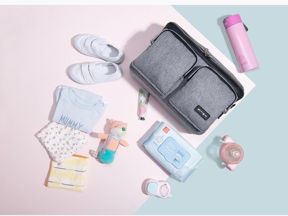 HTB12mEHXvb2gK0jSZK9q6yEgFXap SUNVENO Diaper Bag For Baby Stuff Nappy Bag Stroller Organizer Baby Bag Mom Travel Hanging Carriage Pram Buggy Cart Bottle Bag