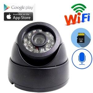 Image 1 - JIENUO cámara Ip Wifi 1080P 960P 720P HD Cctv, vídeo de vigilancia, seguridad, Audio inalámbrico, IPCam interior, cámara de domo infrarrojo para el hogar