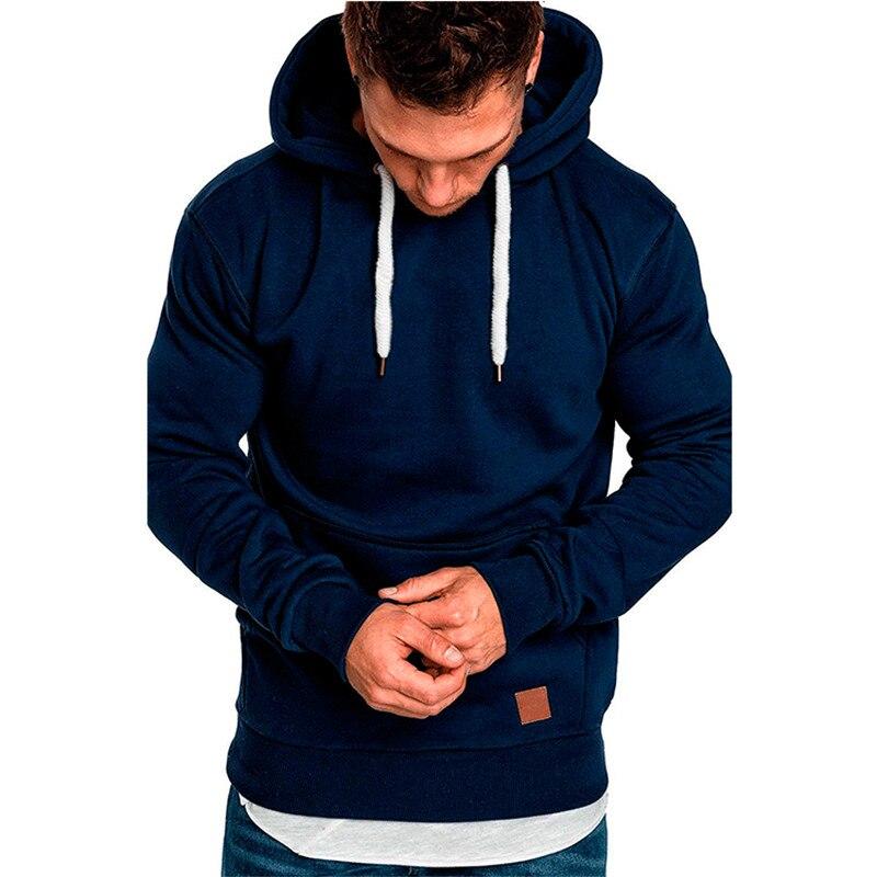 Covrlge Mens Sweatshirt Long Sleeve Autumn Spring Casual Hoodies Top Boy Blouse Tracksuits Sweatshirts Hoodies Men MWW144 2