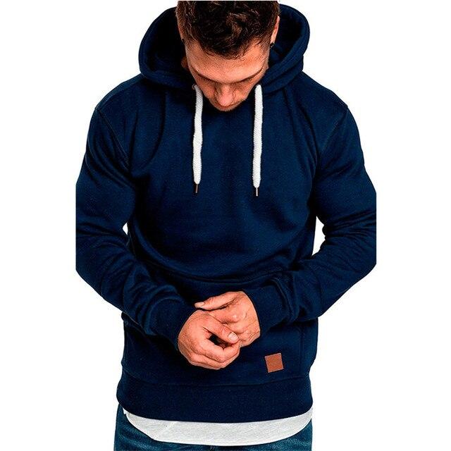 Covrlge Mens Sweatshirt Long Sleeve Autumn   2