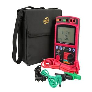 Image 1 - 고전압 절연 시험기 휴대용 lcd 디지털 절연 저항 측정기 600 v dc/ac 전압 테스터 자동 방전 도구