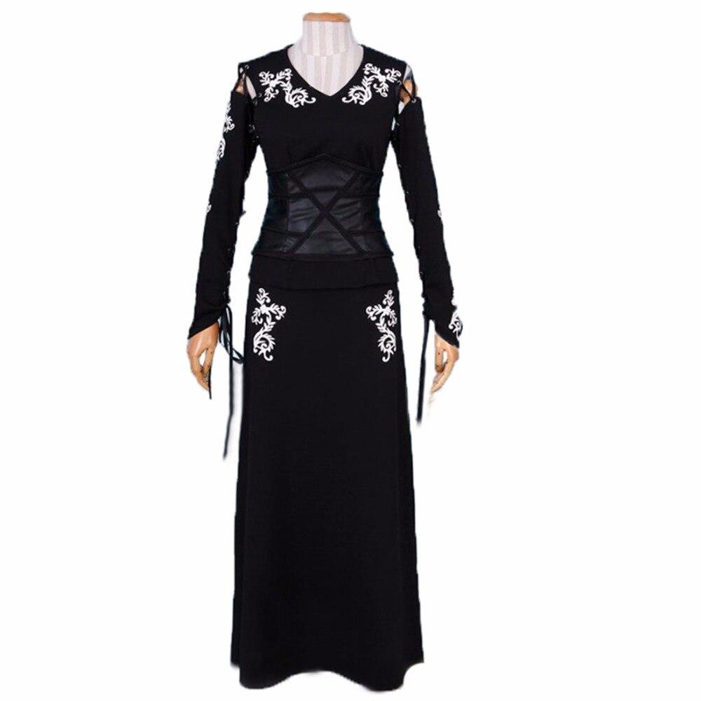 2018 Bellatrix LeStrange Black Cosplay Costume