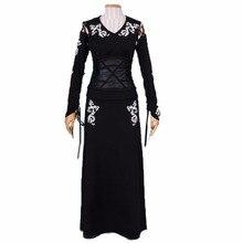 2018 Bellatrix LeStrange đen Cosplay Costume