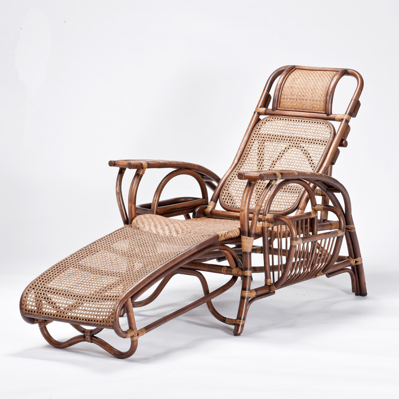 Natural Rattan Handmade Sun Chaise Lounge Rattan Wicker Furniture Modern Outdoor Patio Garden Reclining Sun Lounger Dark Brown & Compare Prices on Outdoor Wicker Recliners- Online Shopping/Buy ... islam-shia.org