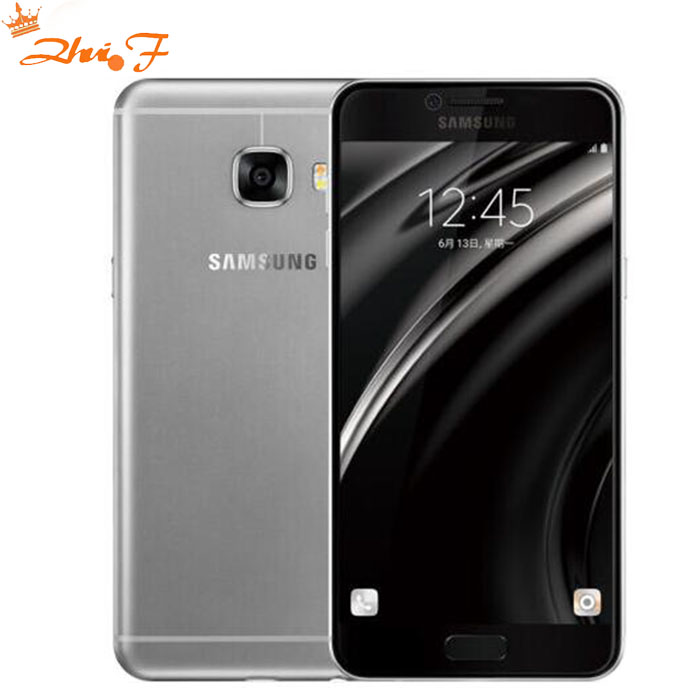 D'origine Samsung Galaxy C5 LTE téléphone portable c5000 Octa Core 1.2 \ 1.5 GHz 4 gb/32 gb 16MP Caméra NFC