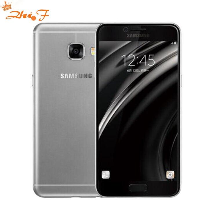 Original Samsung Galaxy C5 LTE móvil teléfono c5000 Octa Core 1,2 \ 1,5 GHz 4 gb/32 gb 16MP Cámara NFC