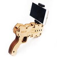 AR Smart Game Bluetooth Handle Gun Fidget Stress Carki Decompressive Toy To Augmented Reality Game Simulator