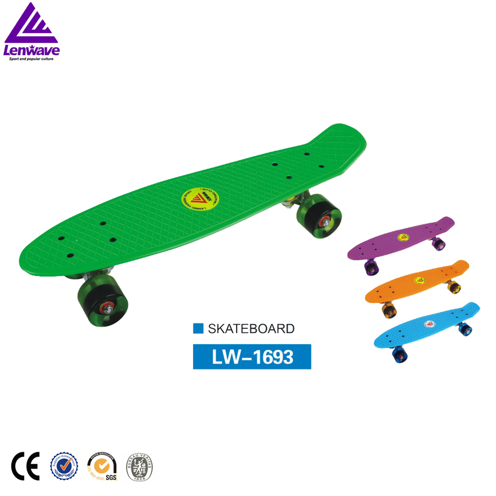 Plastic Skate Board Mini Cruiser Complete Lenwave Brand Retro Classic Cruiser Style Skateboard 6 5 adult electric scooter hoverboard skateboard overboard smart balance skateboard balance board giroskuter or oxboard