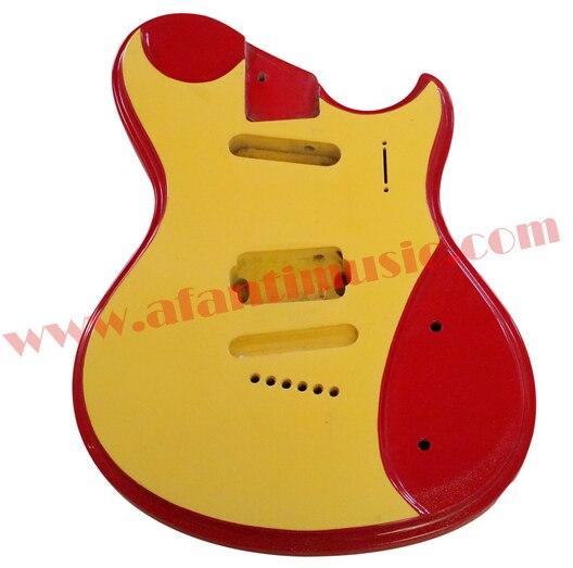 Afanti Music DIY guitar DIY Electric guitar body (ADK-078) afanti music acoustic guitar repair tools gtl 109