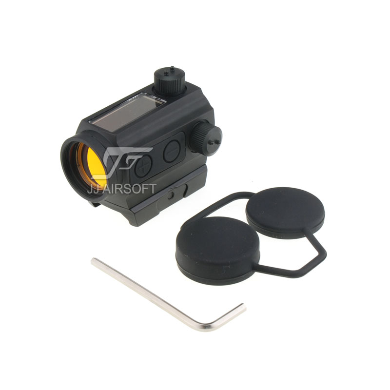 TARGET Solar Power Red Dot with Low Mount Black HS403C Style IPSC