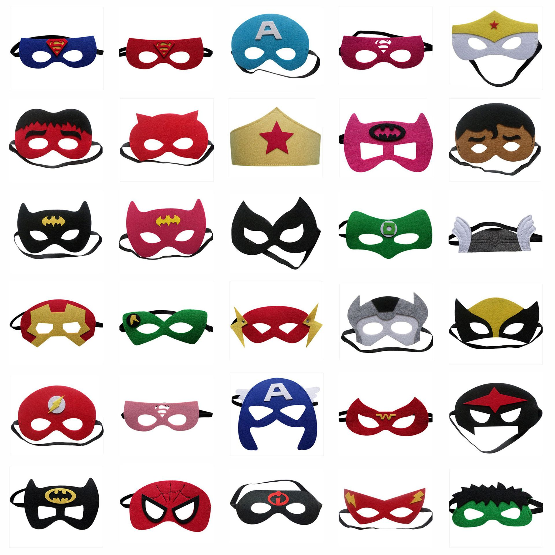 1 pc mask christmas halloween masquerade mask party supplies birthday party decorations kids - Kids Halloween Masks