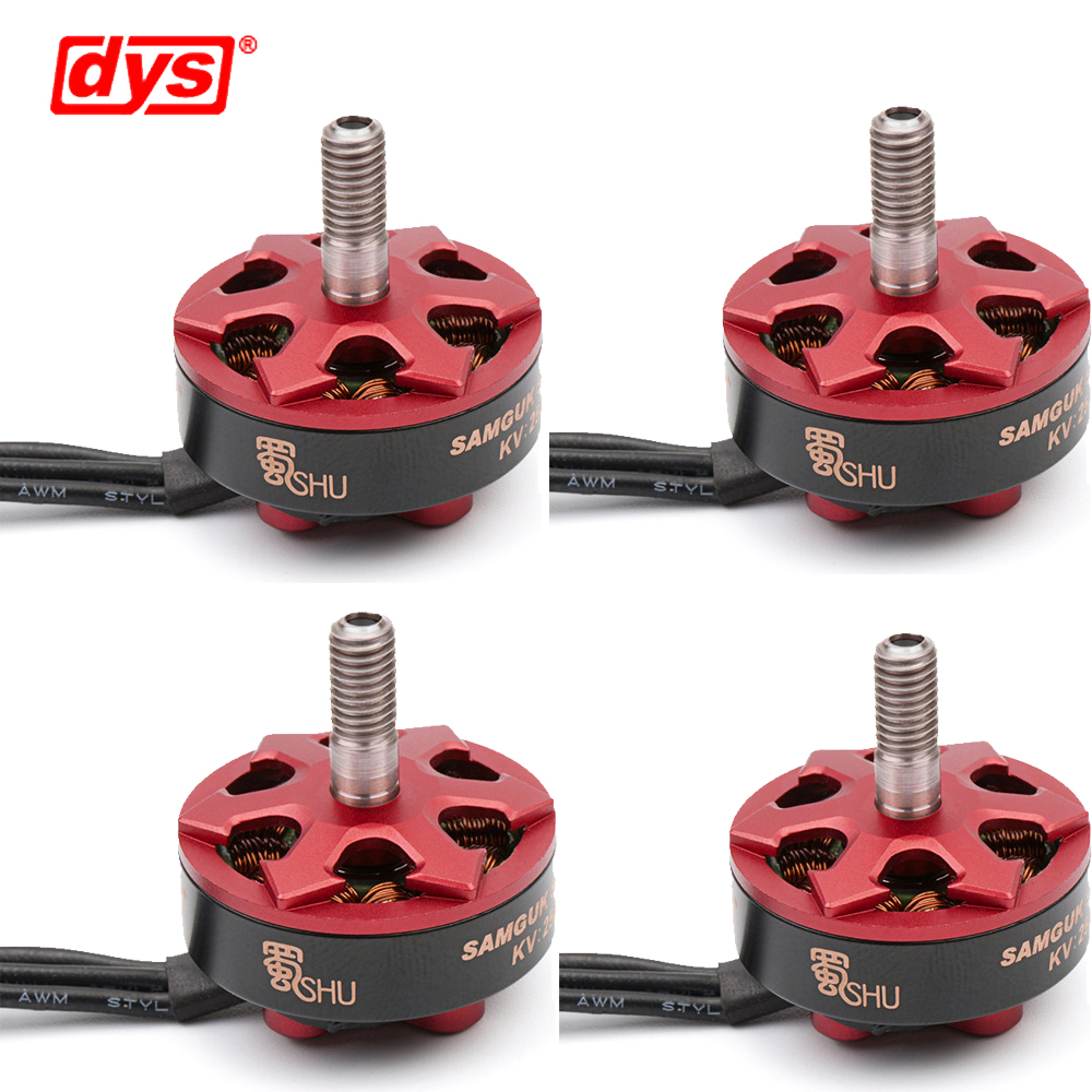 4pcs/lot DYS Samguk Series Shu 2306 2500KV/2800KV 3-4S Brushless Motor for RC Models Multicopter Spare Part Accs 4set lot universal rc quadcopter part kit 1045 propeller 1pair hp 30a brushless esc a2212 1000kv outrunner brushless motor