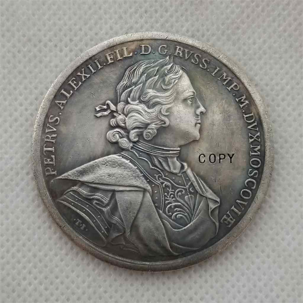 Tpye # 99_Russian gedenk medaille 50MM KOPIE MÜNZE