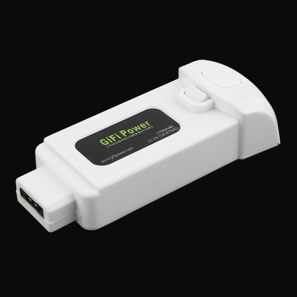 1PCS 11 1V 1700mAh 18 87Wh Lithium Polymer Battery for Yuneec Breeze font b Drone b