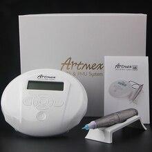 アートメイク眉毛機デジタル制御パネル Micropigmentation デバイス目眉リップロータリーペン Artmex V6