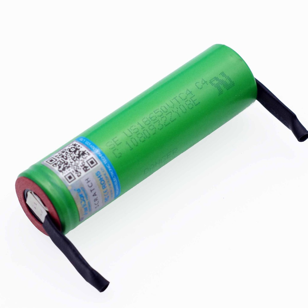 Image 3 - VariCore New 3.6V 18650 US18650VTC4 2100mAh VTC4 20A 30A Discharge Rechargeable battery Welding Nickel Sheet-in Replacement Batteries from Consumer Electronics