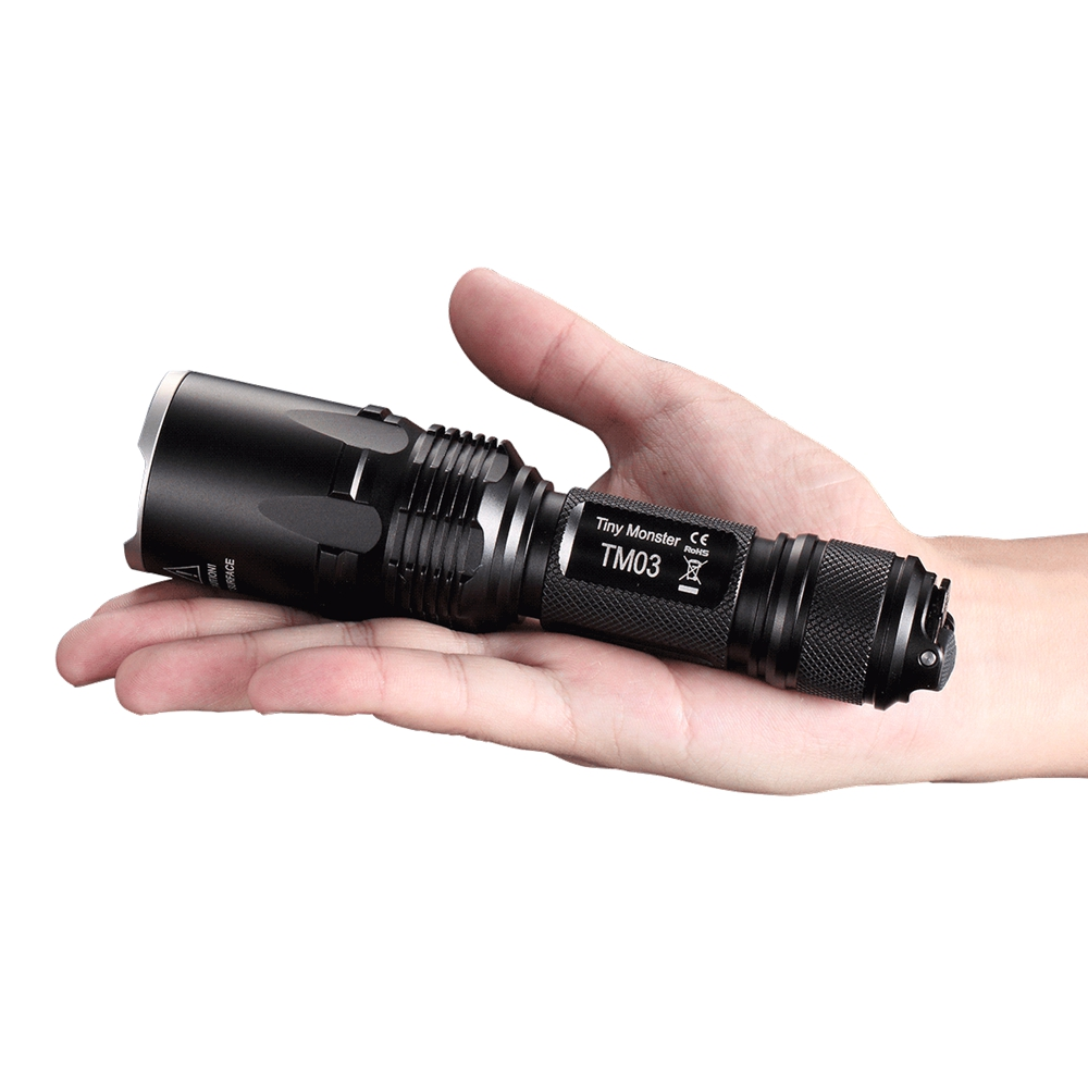 Nitecore TM03 4*CREE XHP70 LEDs Tactical flashligh 2800LM with IMR18650 Battery for Hunting Fishing Not Battery nitecore imr18650 3100mah 35a 3 7v flat top rechargeable battery