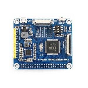 Image 5 - Waveshare 6インチ電子インクディスプレイ帽子ラズベリーパイ800*600解像度電子ペーパーIT8951コントローラusb/spi/I80/I2Cインタフェース