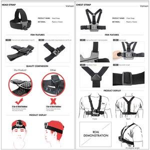 Image 5 - Vamson pour Gopro 7 kit daccessoires pour xiaom yi 4k pour gopro hero 7 6 5 4 3 kit de montage pour SJCAM SJ4000/eken h9 trépied VS56