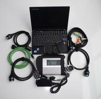 Best 2018 МБ sd подключения компактный 4 звезды диагностики c4 + win7 SSD программного обеспечения v2018.07 + X201 8 ГБ диагностический ПК