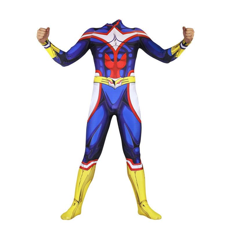 アニメ私のヒーロー学界すべてかもしれないコスプレ衣装服ジャンプスーツボディスーツハロウィンパーティー大人男性キッズボーイズ  グループ上の ノベルティ & 特殊用途 からの アニメ コスチューム の中 2