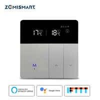 Thermostat WiFi pour chauffage par le sol électrique Tuya Alexa Google accueil contrôle chaud chauffage par le sol Thermostat 16A 110 V-240 V