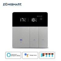 WiFi Thermostat for Electric Floor Heating Tuya Alexa Google Home Control Warm Underfloor Heater Thermostat 16A 110V 240V