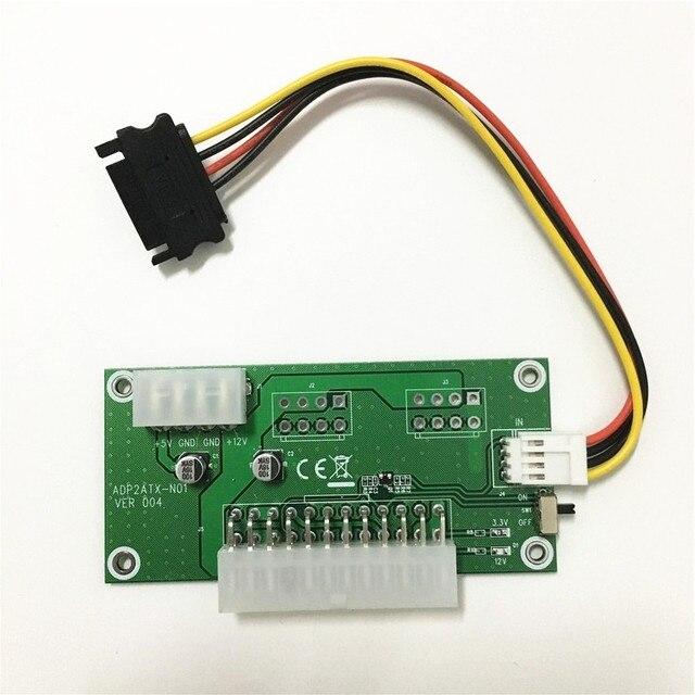 100 satz PC Desktop ATX 24 Pin Dual netzteil Power Synchron Starten ...