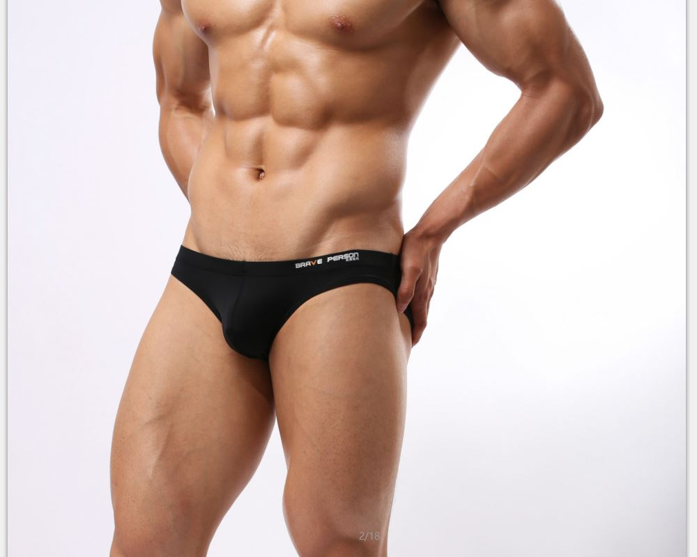 Buy 2018 Swim Bathing Suit Men Swimwear Shorts Briefs Swimsuit Sportswear Sport Beach Bather Pool Pants Spandex Gay Underpant Bikini