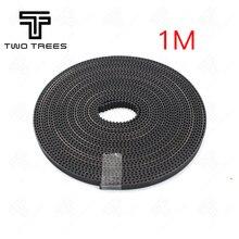 1 M 2 M 3 M Kemer Kauçuk GT2 Açık zamanlama kemeri Genişliği 6mm için GT2-6mm 3D Yazıcı RepRap Mendel rostock CNC GT2 kayışlı ka...