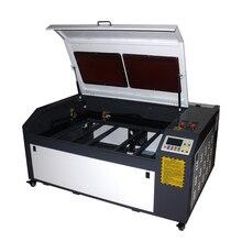 Лазерный гравировальный станок 100 Вт Co2 для резки 1060 PRO с системой DSP автоматический фокус резак гравер охладитель 1000*600 мм