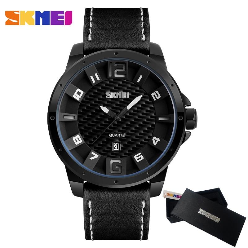 Top Luxury Brand SKMEI Men Quartz Watches Men's Sport Army Military Wrist Watch Male Clock Date Quartz-watch Relogio Masculino