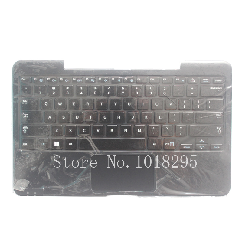 NEW US Laptop Palmrest With Keyboard  For SAMSUNG XE500T1C English Laptop Keyboard