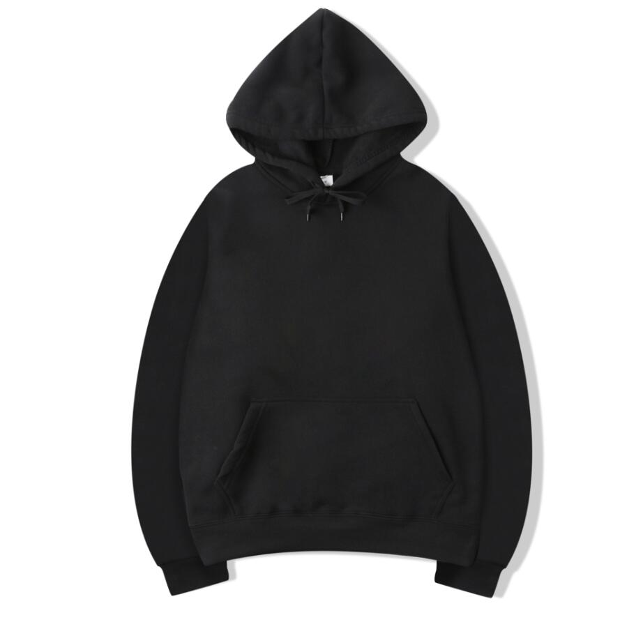 Pure Cotton Men Hoodies