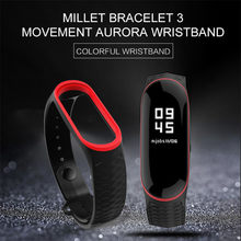 Choifoo For Xiaomi Mi Band 4 Strap for Mi band 3 Bracelet Silicone Wrist band Strap Smart watch band Accessories Drop Shipping(China)