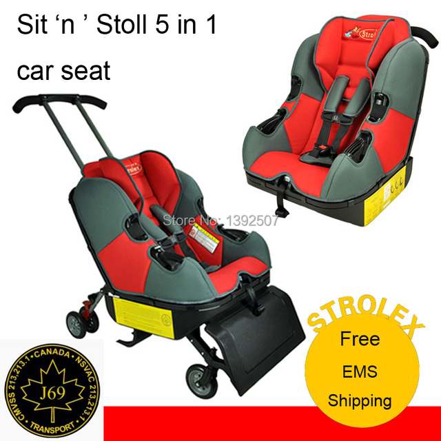 New! The Sit \'n\' Stroll, Baby toddler kids child travel safety car ...