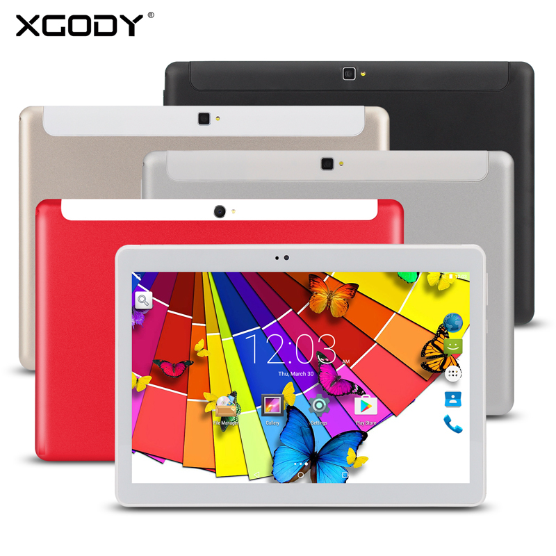 XGODY T1003 10.1 Inch 3G Phone Call Tablets Quad Core Tablet PC Android 5.1 2GB 32GB WiFi GPS Dual Sim 5MP Camera Tablet Phablet