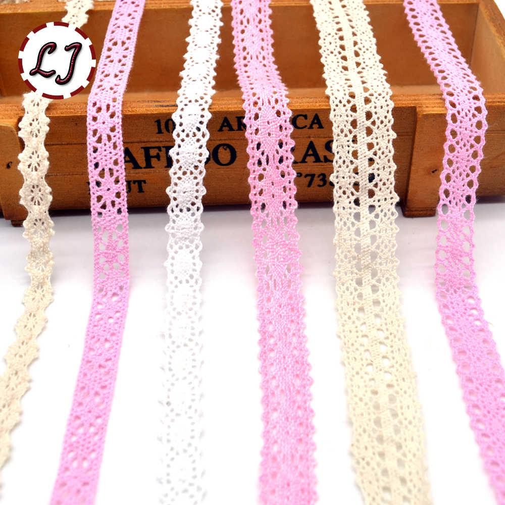 ¡Novedad! material de costura de ajuste de encaje de algodón de cinta de tela de encaje de color beige accesorios DIY
