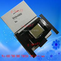 High quality New Original Print Head F187000 Printhead Compatible For Epson 4880 7880 9880 DX5 Printer Gold Surface Encryption