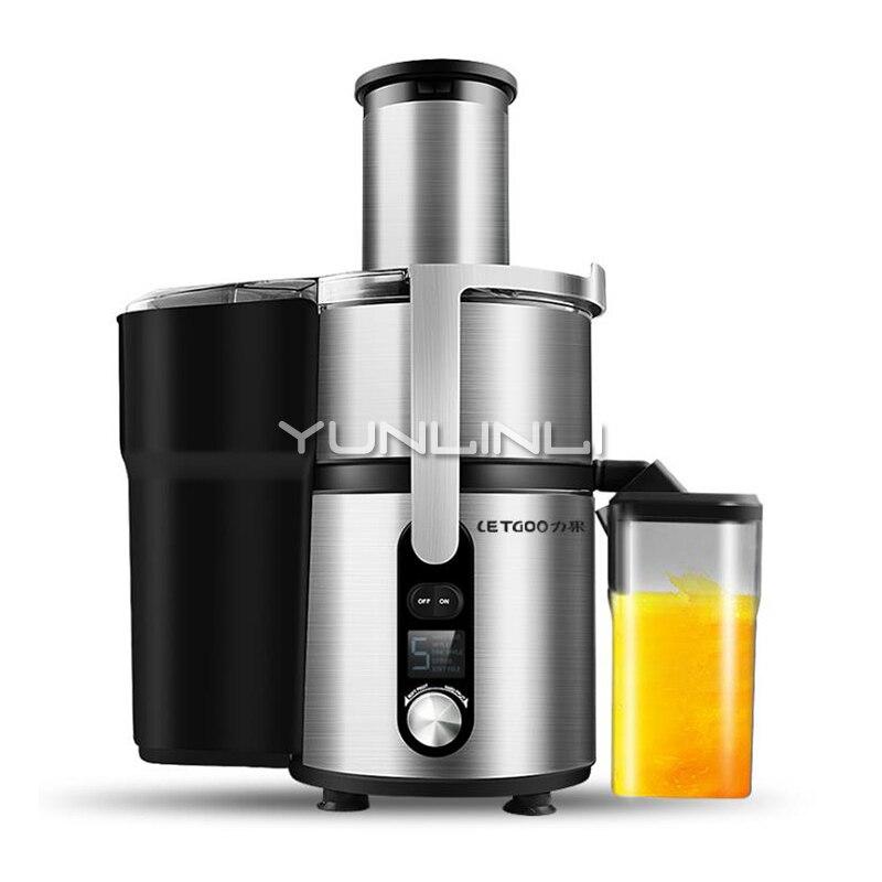 Коммерческая соковыжималка автоматическая соковыжималка разделения двигатель постоянного тока лимонный цитрусовый ручная соковыжималка