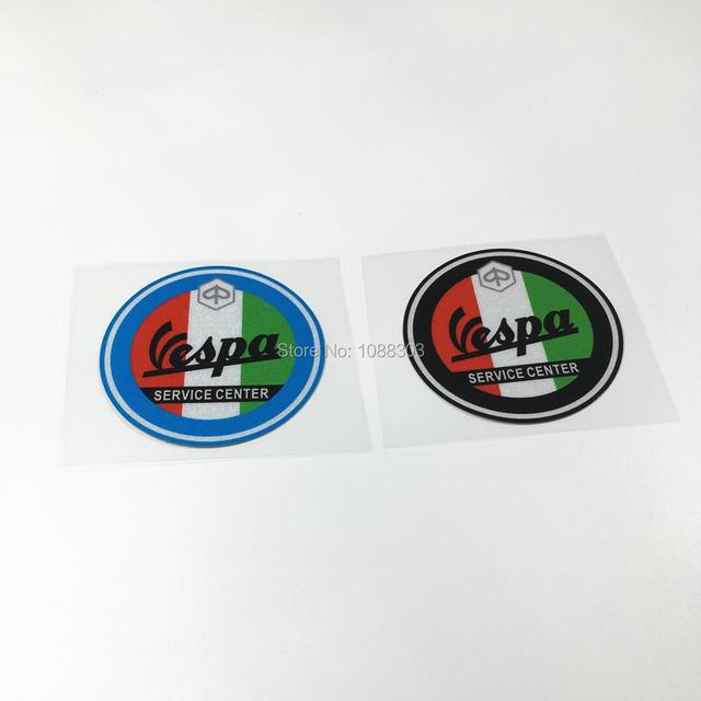 acheter car styling 2 pcs lot italie vespa club autocollant de voiture stickers. Black Bedroom Furniture Sets. Home Design Ideas