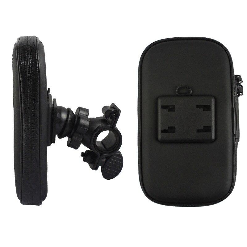 Nueva prueba de agua 5.5 pulgadas de bicicletas manillar phone case holder mount