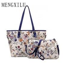 SAICHENG 3 Sätze Frauen Ethnische Handtaschen Nationalen Blumen Messenger Bags Sommer Verbund Spanien Taschen Frau Neverfull Chinesischen Tasche