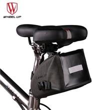 WHEEL UP Waterproof Reflective Bicycle TPU Bag MTB Road Bag Bicycle Accessories Panniers Bicycle Saddle Bag Bike Cycling TailBag