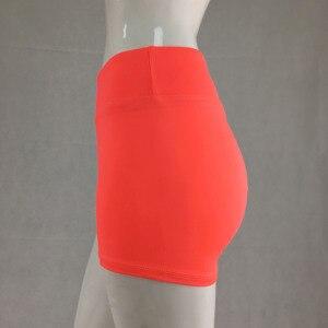 Image 5 - 2018 New Elastic Booty Shorts Sexy Slim Feminino Pantalones Mujer Fitness Women Sporting Runs Female Short Pants