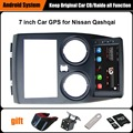 Обновлен Оригинальный Автомобиль мультимедийный Плеер Автомобиля Gps-навигация Костюм для Nissan Qashqai Поддержка Wi-Fi Смартфон Зеркало-link Bluetooth