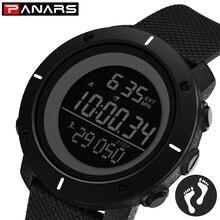 цена PANARS Sport Watch Top Brand Luxury Men LED Digital Military Watch 50M Waterproof Sports Watches Wristwatch Mens Digital Watches онлайн в 2017 году